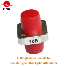 FC/PC Singlemode Female to Female Adapter Type Fiber Optic Attenuator