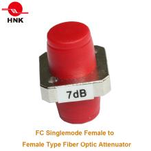 FC / PC Singlemode Fêmea a fêmea Tipo do adaptador Atenuador da fibra óptica