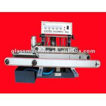Máquina retificadora reta de vidro horizontal YMA211 com 4 rodas
