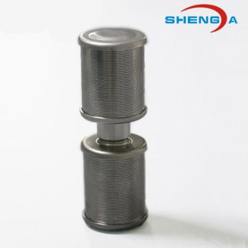 Bocal dobro do filtro da cabeça para o sistema do emoliente de água