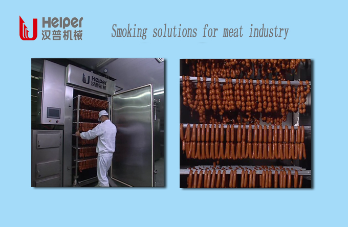 smoking solution for meat processing