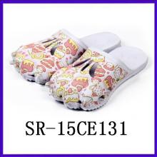 Hot selling Cute claw shape print slipper eva material light slipper