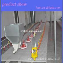 labor-saving and cost-saving broiler floor raising system