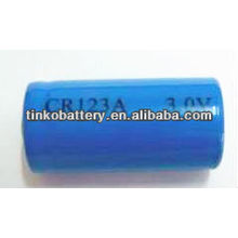 CR Li/MnO2 cr123a 3v 1500mah Battery