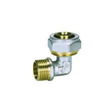 Ktm codo macho (Hz8021) de accesorios de tubería Pex-Al-Pex, utilizado para Pex-Al-Pex tubería, Pert-Al-Pert, tubería de HDPE, tubería de plástico