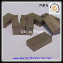 Segmento de diamante para corte de pedra