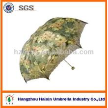 Charmante 3 Falten-Regenschirm für Fashion Lady