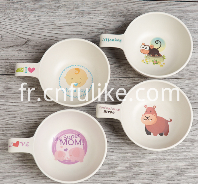 Bamboo Childrens Tableware