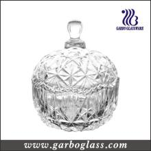 Mini Classic Glass Candy Jar with Lid