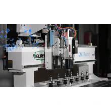 Máquina de enrutador cnc de madera de alta velocidad 1325 ATC para muebles, acrílico, MDF
