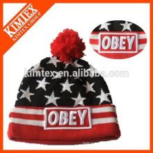 hot selling acrylic womens winter cap
