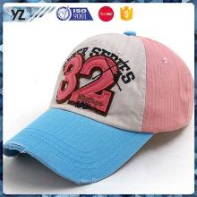 new arrival herringbone twill cotton bright color baseball cap