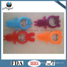 Popular Carton Shape Silicone Bottle Opener Wine Opener Can Opener Sk26