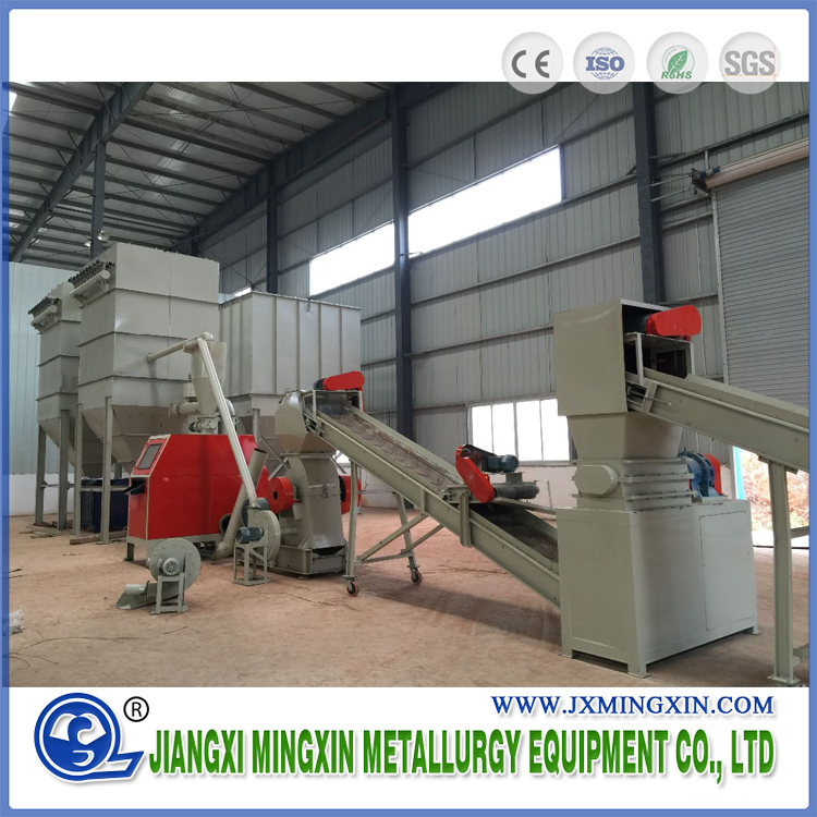 dry type copper wire recycling machine