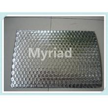 Rouleau de film à bulles d'air en aluminium