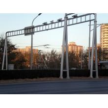 Стальные стержни стержня управления полюсом монитора дорожного движения