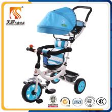 Triciclo de pano de Oxford do fabricante de Hebei para o bebê para a venda