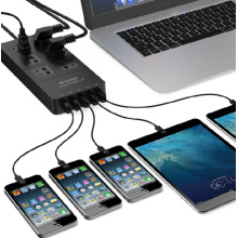 HPC-6A5U-US Smart Socket Power Strip 240v Et 5 Usb Prise électrique