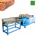 Máquina de corte de tubo capilar de cobre automático com processo de formação de tubo