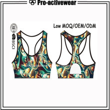 Latest Design Women Bra Slim Fit Gym Wear with Logo