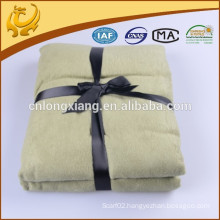 2015 New Fashion Korean Beautiful Color Multipurpose 100% Bamboo Fiber Jacquard Blanket