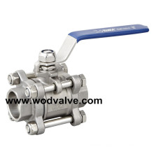 Socket Weld Ball Valve (3 pieces)