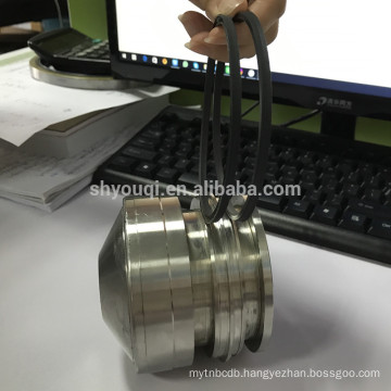 High Pressure Resistance Rubber PTFE Spring Energized Piston Seals