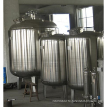 Distilled Water Heating Tank with Mixing Device