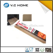 PFOA livre antiaderente alta temprature resistência reusalbe forno torradeira forro