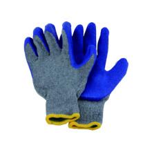 10g T / C Strick Liner Handschuh mit Latex beschichtet, Latex Arbeitshandschuh