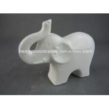 Moda elefante Figurine cerâmica Moden Design para decoração para casa