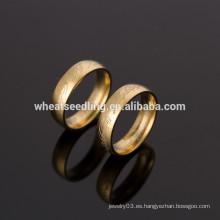 2014 anillo de acero inoxidable simple de los nuevos hombres del diseño