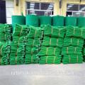 Filet de sécurité vert de construction de protection de chute de haute résistance pour la clôture / échafaudage provisoire