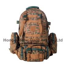 Grande tamanho impermeável ao ar livre mochila militar design fresco (hy-b095)