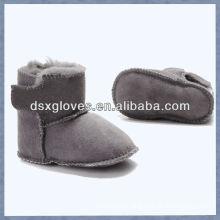 lovely sheepskin baby shoes