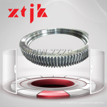 Grue à montage rapide Swing Ring portant avec Gear dureté dégradé