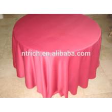120 Zoll satin Runde Tischdecke für Hochzeit