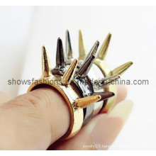 Finger Ring/Fashion Plated Stud Finger Ring/ Fashion Jewelry (XRG12052)