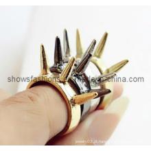 Anel de dedo / moda anel de dedo fivela chapeado / jóia da forma (xrg12052)
