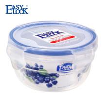 Round airtight food storage container