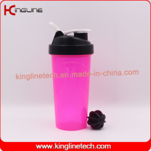 700ml High Quality BPA Free Plastic Protein Shaker Bottle with Filter (KL-7033)
