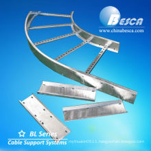 Elbow Cable Trays Ladder Type system y accessories (UL,cUL,NEMA,SGS,IEC,CE,ISO)