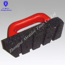 P24# 155*78*25mm silicon carbide sharping oil stone with handle