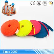 Cintas de nylon revestidas de encargo del cinturón de seguridad del quanlity quanlity pvc de la fábrica de China