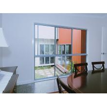 Affordable Economic Single Glass Slim Frame Aluminium Windows