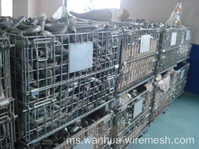 Container Mesh Wire Stacking