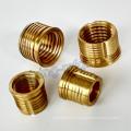 CNC Lathe Turning Machining Brass Aluminum Insert