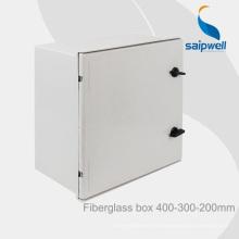 Saip vente chaude IP66 étanche à l'eau extérieure en fibre de verre boîte terminale 400 * 300 * 200mm coffrets électriques