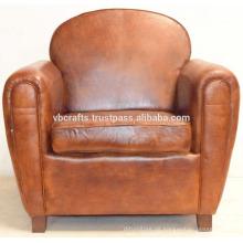 Echtes Leder Sofa Couch