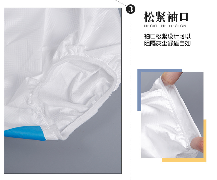 Isolation Disposable protective TPU Gown